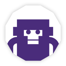 Team monkey purple